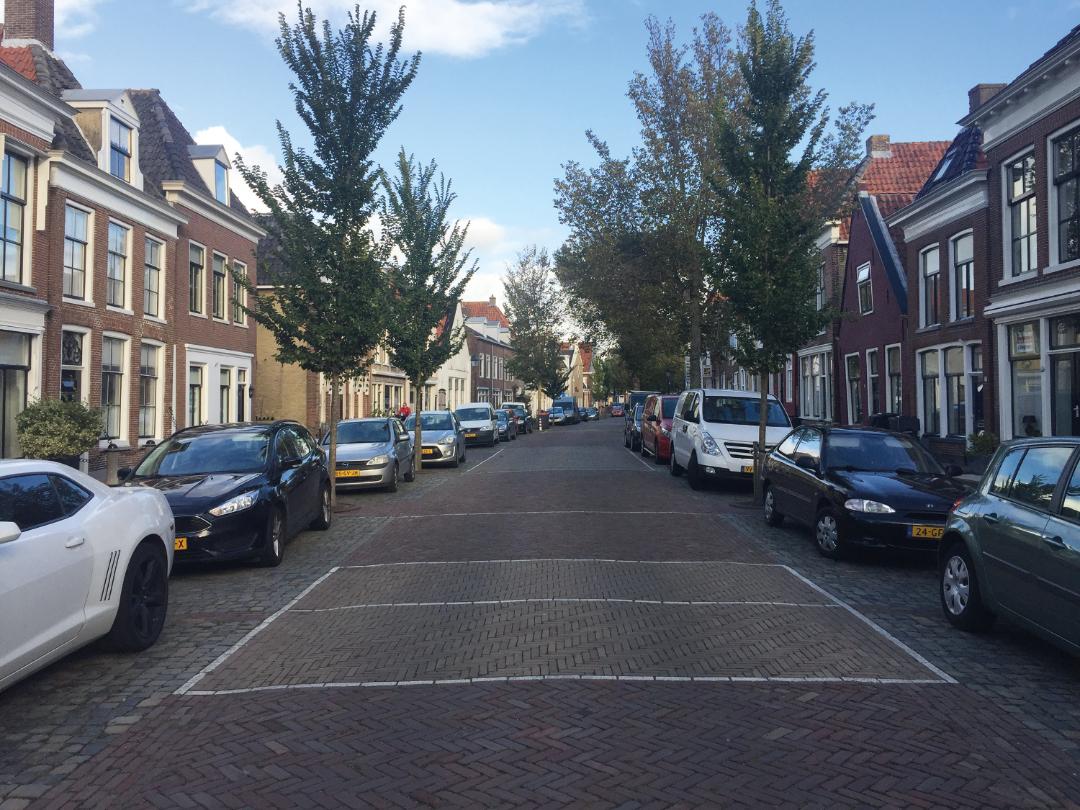 Lanen straatoverzicht Site